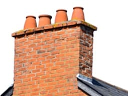 Fireback and chimney clean